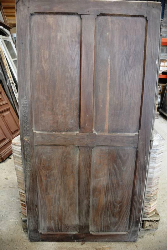 Porte de placard en ch ne vestiges de france vente de mat riaux anciens - Porte de placard chene ...