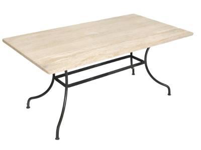 Table LUBERON. Repas rectangulaire
