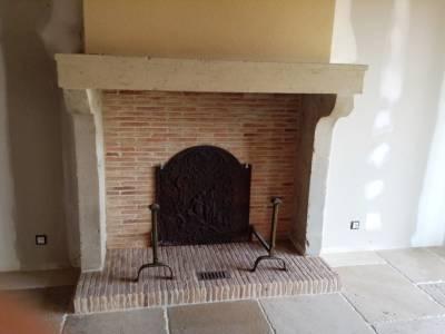 Pose cheminée ancienne