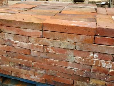 Dallage en brique de récupération