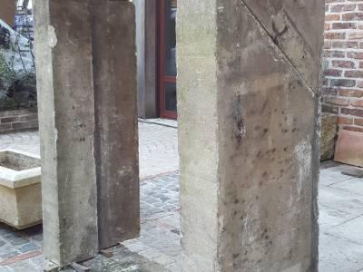 Lucarnes en pierre