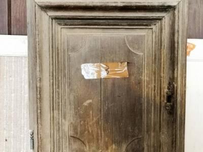 Portes anciennes en bois - Petite porte de placard ...