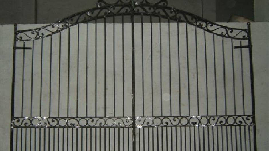 largeur portillon standard miami portillon standard hauteur 1600 mm blanc ou gris taille. Black Bedroom Furniture Sets. Home Design Ideas