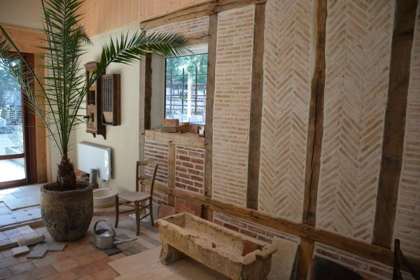 Briques réédition d'ancienne faite à la main