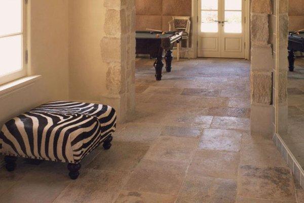 sol int rieur pierre de dordogne ocre vestiges de. Black Bedroom Furniture Sets. Home Design Ideas